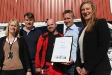 Trondheimsbedrift hedret for klimainnsats
