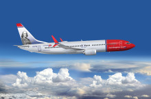 Norwegian announces Benjamin Franklin as first American tailfin hero
