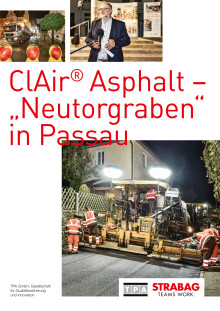 "ClAir® Asphalt – ""Neutorgraben"" in Passau"