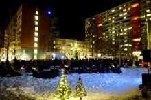 Julegrantenning og Harry Potter på Kringsjå 1.desember