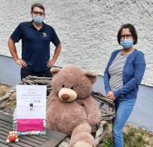 Spendenaufruf für Bärenherz: Praxis für Physiotherapie David Saunus unterstützt Bärenherz