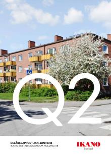 Ikano Bostad Stockholm Holding AB (publ)  Delårsrapport 1 januari-30 juni 2018