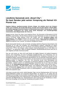 """Ländliche Gemeinde wird """"Smart City"""": So baut Senden jetzt seinen Vorsprung als Heimat 4.0-Pionier aus"""