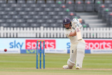 Knight narrowly misses out on ton on opening day