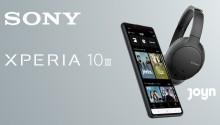 Das neue Xperia 10 III im exklusiven Kopfhörer und Joyn PLUS+ Bundle