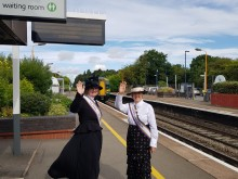 Station adopters celebrate 100 years of women's rights at Widney Manor