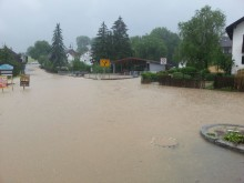 Stromausfälle durch starke Überschwemmungen im Raum Simbach-Pfarrkirchen