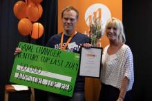Uppsalaföretaget Stardots tar hem vinst i Venture Cup East