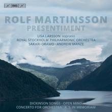 Rolf Martinsson - Porträtt-CD med Kungliga Filharmonikerna