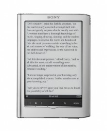 Sony turns up the heat in digital reading with stylish new Readers