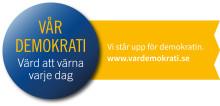 Pressinbjudan: Digital ceremoni för undertecknande. Landshövdingen skriver på deklaration för att stärka demokratin