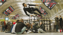 Parkourfilm först ut i MTR Express digitala satsning på actiontrailers
