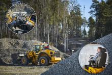 Fjärrstyrda hjullastare testas när Volvo CE får Sveriges första 5G-nät för industrin