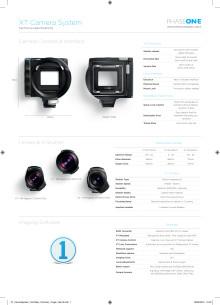 XT Camera System Tech Spec
