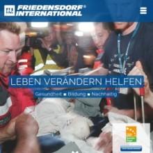 Weihnachtszeit ist Spendenzeit: WALTHER gibt für das Friedensdorf