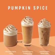 Pumpkin Spice är äntligen tillbaka och hösten är officiellt här! - I år även med vegansk grädde.