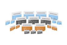 Forbedret ytelse med nye minnekort fra Samsung