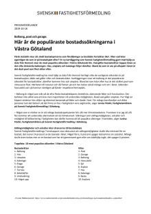 Balkong, pool och garage: Här är de populäraste bostadssökningarna i  Västra Götaland