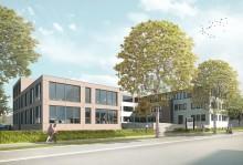 Halbzeit in Neu-Ulm: Rohbau für Erweiterungsbau am ZÜBLIN-Standort fertiggestellt
