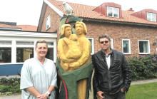 Familjecentralen i Osby har fått eget landmärke