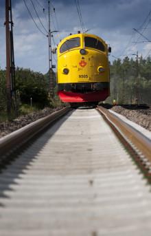 Strukton Rail utför slipersbyte i Norrland