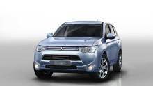 Världspremiär för Mitsubishis laddhybrid