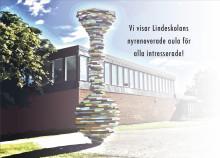 Öppet hus i Lindeskolans nya aula på fredag