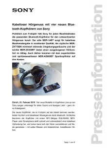 Medienmitteilung_Bluetooth Kopfhörer_D-CH_150223