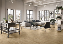 New Tiles for 2019 by Villeroy & Boch Porcelain stoneware concept with a fine wood look – OAK PARK: The calm charm of oak