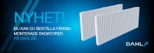Dahl lanserar produktkonfigurator för färdigmonterade radiatorer – ett smart verktyg för hantverkare