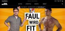 """Neue #BeatYesterday-Staffel """"Faul wird fit"""" mit Etienne Gardé von Rocket Beans TV"""