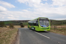 Pontop Pike diversion for Coast & Country 78/78A - 24 & 25 September