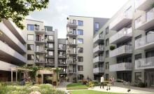 Riksbyggen säljstartar två bostadsrättsföreningar i Jakobsbergs Centrum
