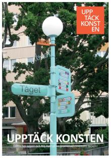 Invigning av appen Upptäck konsten i Solna staden 2/10 kl 18.00 på biblioteket i Bergshamra