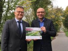 RuhrtalRadweg kurbelt die Wirtschaft an:  Wirtschaftliche Kennzahlen und neuer Bildband sind erschienen