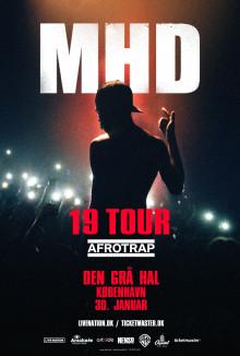 Koncerten med den franske afro trap pioner, MHD, i Valby Hallen 30. januar, flyttes til Den Grå Hal