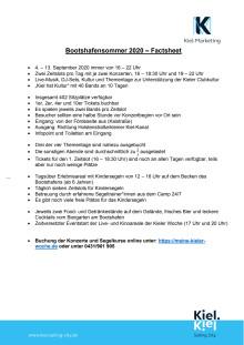 Factsheet Bootshafensommer 2020