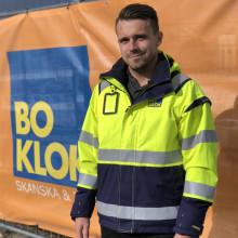 """Robert Glavocevic om rollen som produktionschef på BoKlok: """"Jag är den som styr skeppet i hamn"""""""