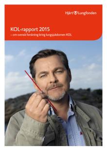 Hjärt-Lungfondens KOL-rapport 2015