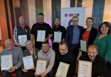 Treeab Bygg vinnare i Almis Tillväxtliga i Jämtlands län