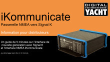 iKommunicate - Nouvelle génération d'interface avec Signal K et NMEA