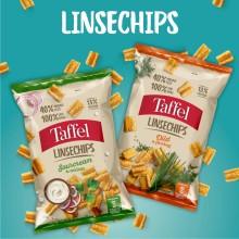 Du tror, det er løgn: Taffel lancerer chips lavet af linser