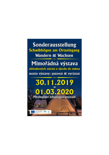 Plakat Schwibbogenausstellung Johanngeorgenstadt