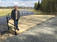 Kulturpraktikanter skapar teatervandring med äventyrlig ton i Lindesberg
