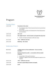 Finska näringslivet, TAT,  samverkar med Thoren Business School