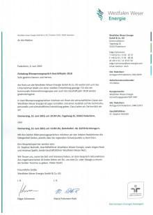 Einladung Pressegespräch: Jahresbericht 2018
