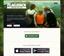 FLAGSTACK - ein neuartiges GPS-Game ist am Start