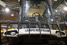 Ny hytt på Sampo Rosenlews tröskor