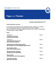 Tipps und Themen 8/9-2017