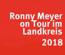 Ronny Meyer on Tour im Landkreis Reutlingen - Stop in Metzingen